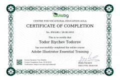 Adobe - Illustrator - Certificate by Aula.bg