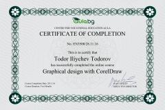 CorelDRAW - Certificate by Aula.bg