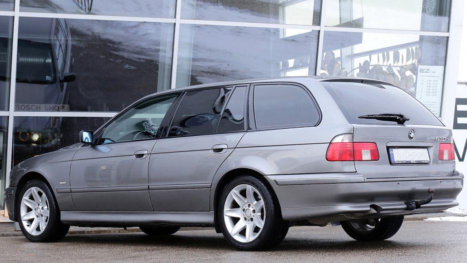 Следващ проект: BMW Seria 5 - 525d Touring / 1998