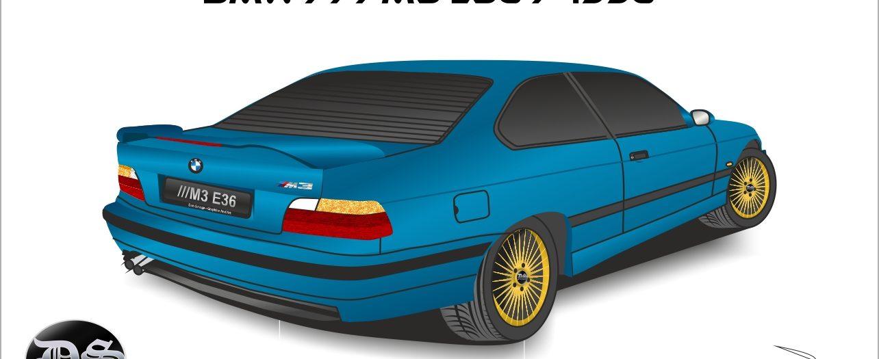 BMW ///M3 E36 / 1996 (Бърз метод)