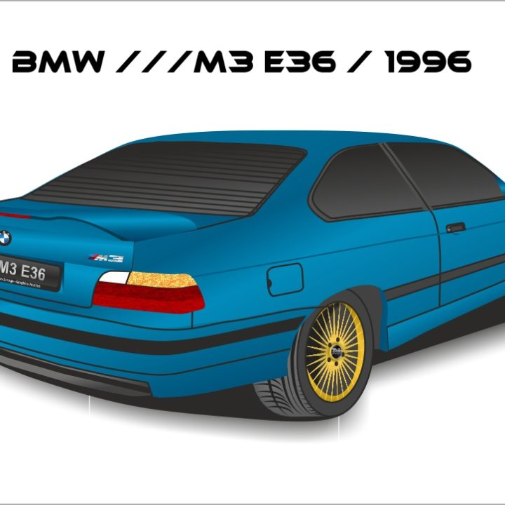 BMW ///M3 E36 / 1996 (Quick ART)