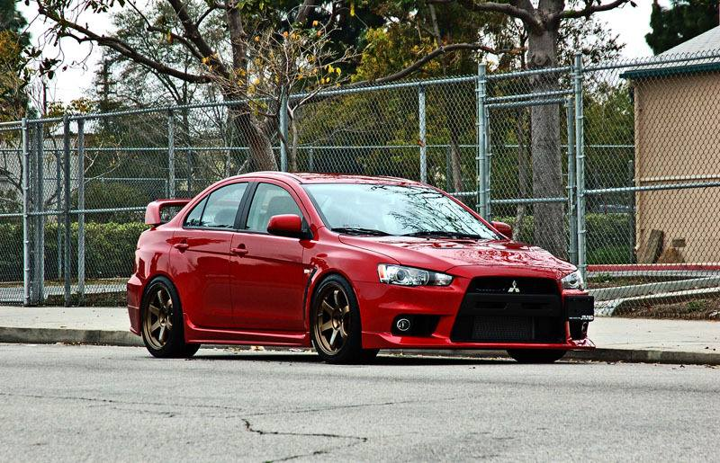 Next project: Mitsubishi - Lancer Evo X / 2010