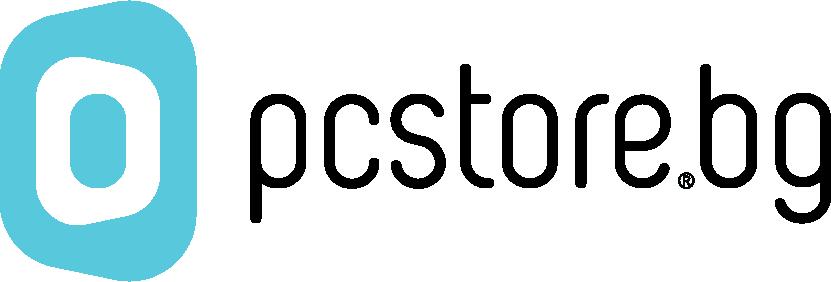 Това е логото на PCStore.bg - онлайн магазин за лаптопи.