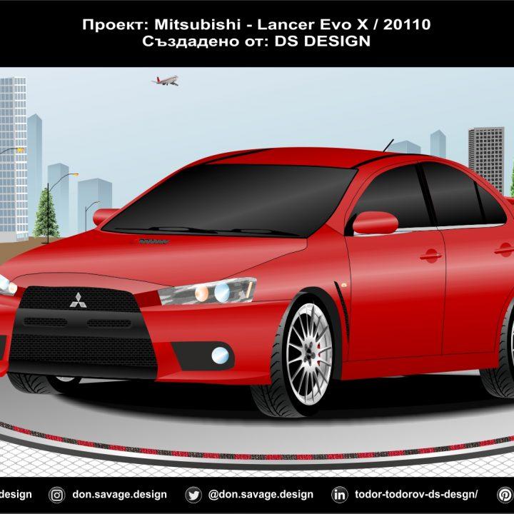 Mitsubishi - Lancer ///Evo 10 / 2010