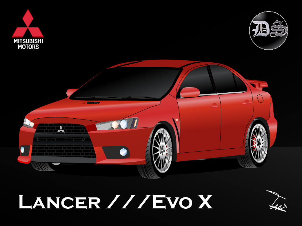 DS DESIGN - ART Mitsubishi - Lancer Evo X 2010 (Fast ART)