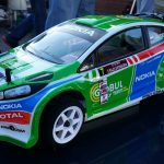 Rally car - Ford Fiesta RS 2013. Driver: Krum Donchev