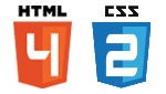 Logo HTML 4 & CSS 2